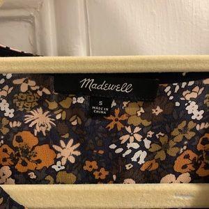 Madewell Tops - Madewell floral peplum blouse
